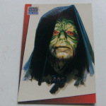 Star Wars Galaxy 1993 Topps #14 The Emperor Palpatine Trading card